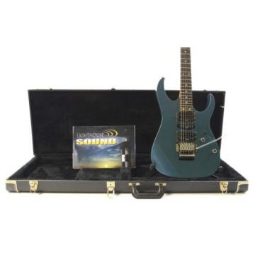 Ibanez RG470AH Electric Guitar - Metallic Blue w/Case