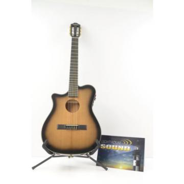 Carvin CL450 Left Hand Nylon String Acoustic-Electric Guitar w/ OHSC CL-450