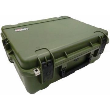 OD Green SKB Case 3i-2217-8M-E No foam & Pelican TSA- im2700 Lock.