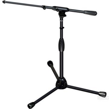 Ultimate Touring Series Short Adjustable Boom Mic Stand Tripod Base NEW