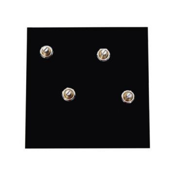 Duncan Pearly Gates Humbucker Pickup Set, Black + Page Les Paul Wiring Harness