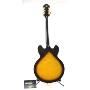 2009 Epiphone Sheraton II Archtop Electric Guitar - Vintage Sunburst w/ Case