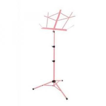 On-Stage Stands Tubular Tripod Base Sheet Music Stand (Pink) SM7222PK NEW