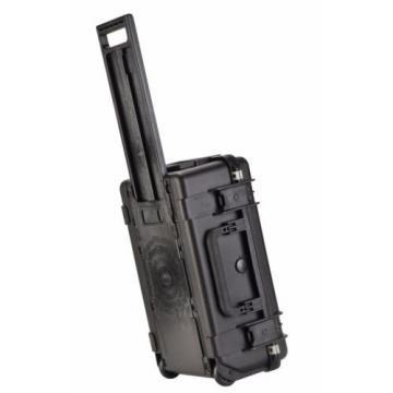 Black SKB 3i-2011-7B With Foam - 4 pistol, gun case & Pelican- 1510 Lock. Wheels