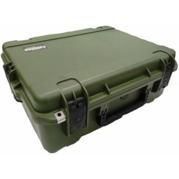 OD green SKB Case 3i-2217-8M-C With foam & Pelican TSA- 1600 Lock.