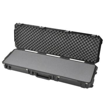 "SKB Waterproof Plastic Molded 50.5"" Gun Case For Weatherby Bolt Action Rifle"