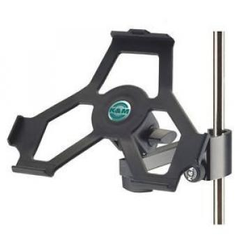 K&M 19724 - iPad Air 1 microphone stand holder (NEW) guitar music clip Apple