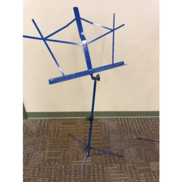 Dark Blue Collapsible Music Stand