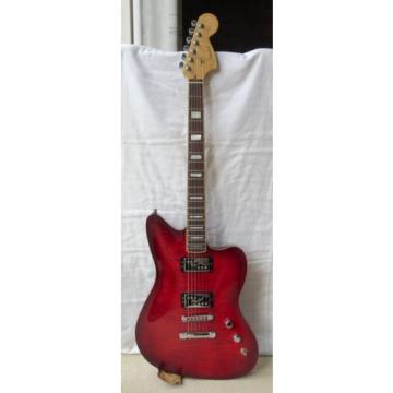 "2013 Fender USA ""Select Series"" Jazzmaster HH Ltd Ed Flame Maple Top Elec Guitar"