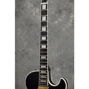 [NEW!]Gibson Custom Ronnie Wood Signed L-5S Ebony, Stones, f0240