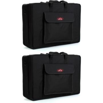 SKB 1SKB-SC2316 Pedalboard Soft Case (2-pack) Value Bundle
