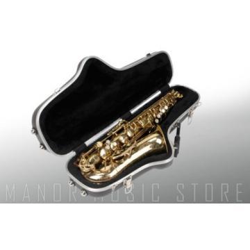 SKB Cases 1SKB-140 Contoured Alto Saxophone Case With D-Ring Strap 1SKB140 New