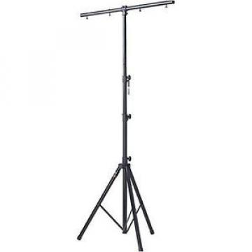 Stagg LIS-A2022BK One Tier Light Stand - Black -