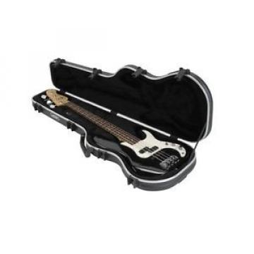 SKB Shaped Electric Bass Hardshell - TSA Latch, Over-Molded Handle 1SKB-FB-4 NEW