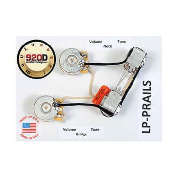 Seymour Duncan SHPR-1 P-Rails Humbucker Pickup Set, Black w/LP-PRAILS Harness