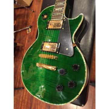 Wolf WLP 750T 2017 Transparent Green Electric Guitar