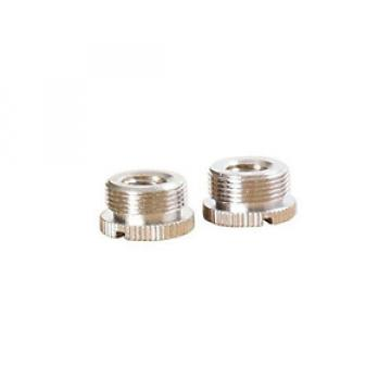 On Stage MA300 5/8-Inch Male to 3/8-Inch Female Knurled 2 Piece Mic Adapter