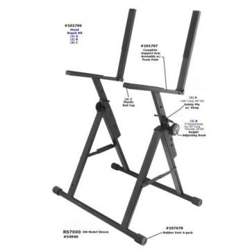 On Stage Stands 101707 Support Arm Assembly for RS7000 Amp Stand