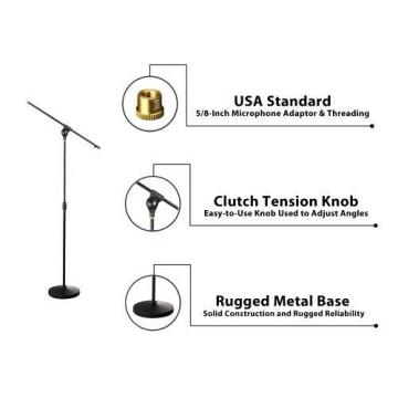 New PYLE PMKS15 Microphone Stand,easy to use