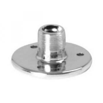 OnStage On-Stage TM02C Chrome Microphone Flange Mount