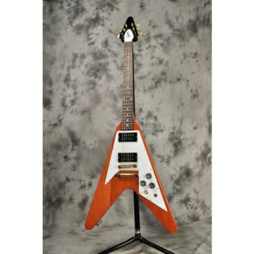Gibson 2016 Limited Flying V Reissue Natural, Electric guitar, a1085