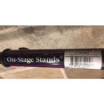 On-Stage Stands XCG4 Classic Guitar Stand Black