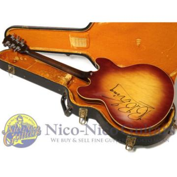 Gibson Early 1970s ES-335 B.B. King Signed Used  w/ Hard case