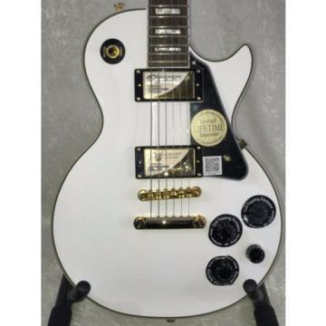 Epiphone Les Paul Custom PRO – Used/2nd Electric Guitar – Alpine White