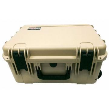 Desert Tan SKB Case 3i-1914-8T-E NO Foam & Pelican TSA- 1550 lock. With Wheels