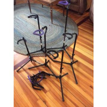5 guitar stands On Stage plus others low price musician Equipment