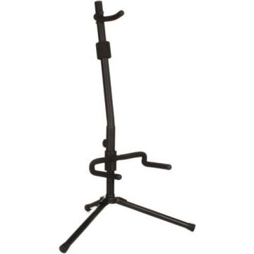 On-Stage Stands Push-Down, Spring-Up Locking Acoustic G... (3-pack) Value Bundle