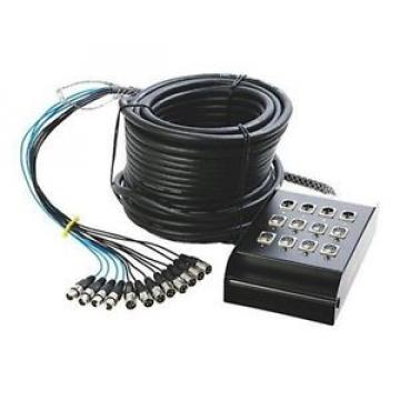 In-Line Audio 100 ft. Stage Snake w/8 channels SNK84100 NEW