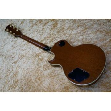 Gibson Les Paul Custom Plus Vintage Sunburst 1997 Electric guitar from japan