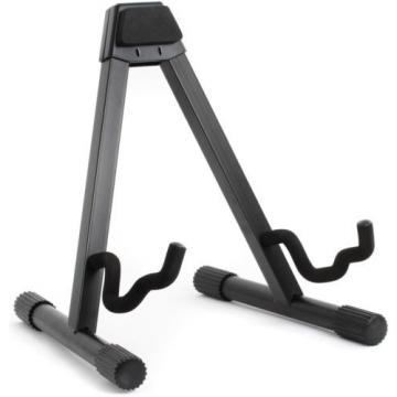 On-Stage Stands GS7462B A-Frame Guitar Stand (5-pack) Value Bundle
