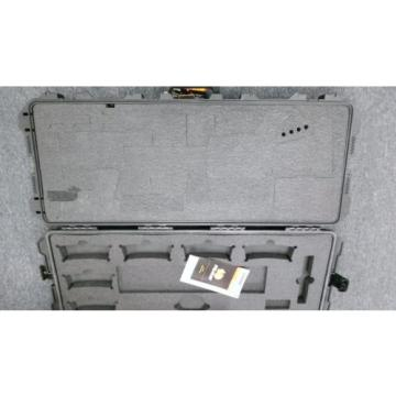 Black Pelican iM3100 Gun Case With custom Foam. 472-PWC-M4 & 1700 Desiccant