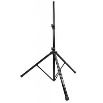 DJ PA SPEAKER UNIVERSAL ADJ. HEIGHT TRIPOD STANDS & NYLON CARRY BAG & CABLES, SP