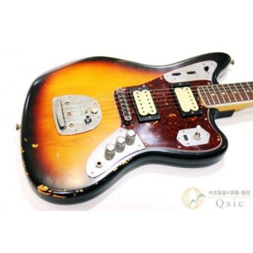 Fender Kurt Cobain Road Worn Jaguar FROM JAPAN/569