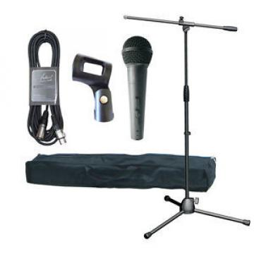 Artist MIC Stand Pack (XLR-Jack) - Stand, Bag, Mic, Clip and Cable