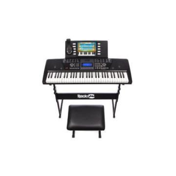 Digital Piano Keyboard For Kids Adults 61 Key SuperKit Stand Stool Headphones