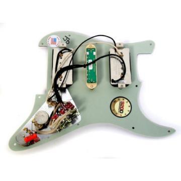920D Custom Loaded Strat Pickguard with Seymour Duncan HSH P-Rails Left Hand