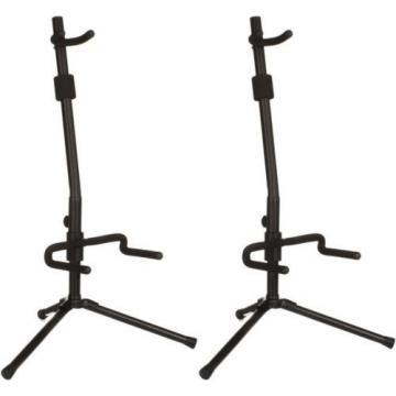 On-Stage Stands Push-Down, Spring-Up Locking Acoustic G... (2-pack) Value Bundle
