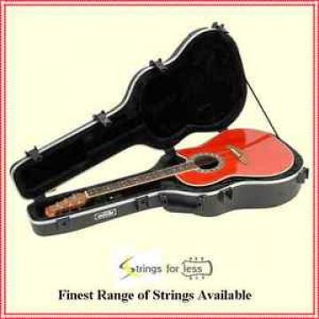 SKB 1SKB-17 Acoustic Roundback Guitar Case Moulded with TSA Locks