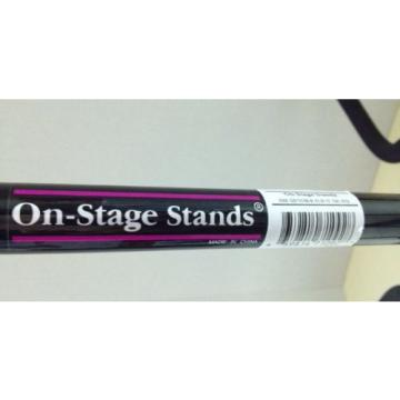 On-Stage Stands MODEL GS7353B-B Tri Flip-It Guitar Stand - BRAND NEW