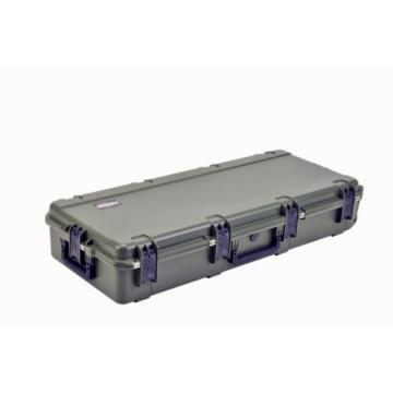 OD Green SKB Double bow  /Rifle Case 3i-4217-DB & 2 TSA locking Latches