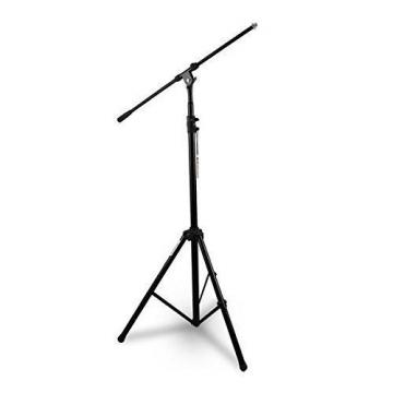 Microphone Stand Heavy-Duty Collapsible Tripod Boom Microphone Mic Stand Heig...