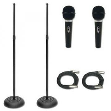 Vocalist Mic Stands Plus ST90MKII Mic And Cable Package - New