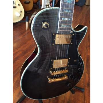Wolf WLP 750T 2017 Transparent Black Electric Guitar