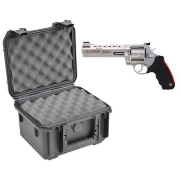 SKB Waterproof Plastic Gun Case Taurus Raging Bull Large Frame Handgun Revolver