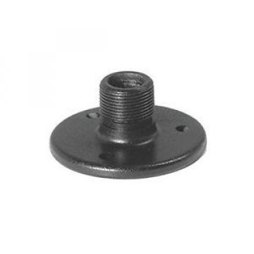 "1.75"" OnStage Round Metal Table Mount For Microphone Pro Audio Equipment Black"