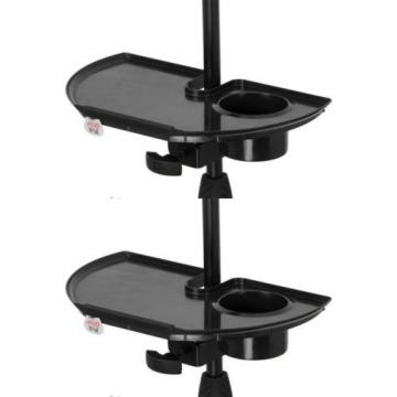 Gator Frameworks GFW-MICACCTRAY Microphone Stand Access... (2-pack) Value Bundle